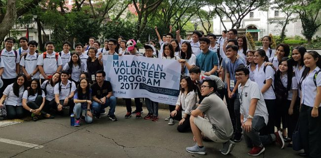 The 2nd SJIIM Scholars' Lasallian Leadership Training Camp in Manila, Philippines