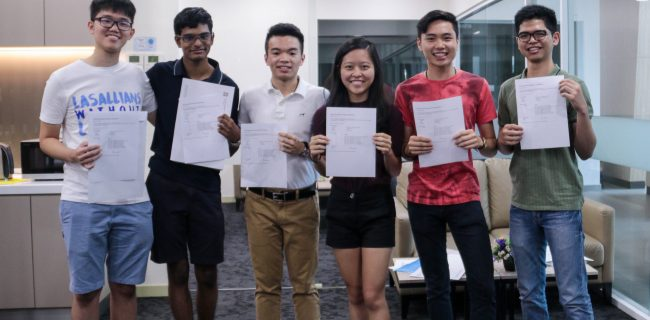 First cohort of SJIIM students celebrate outstanding IBDP results