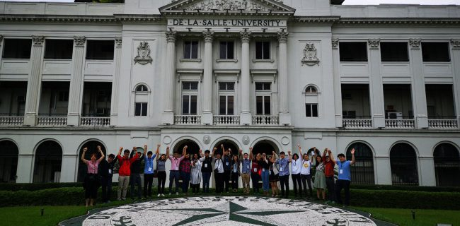 The 3rd SJIIM Lasallian Leadership Training Camp in Manila, Philippines