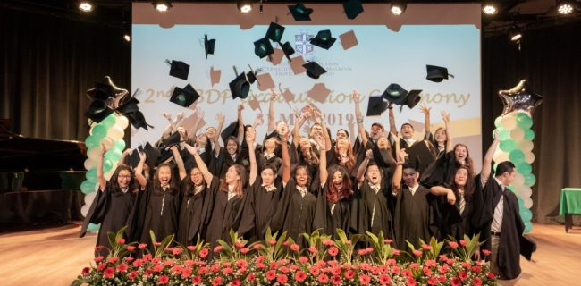SJIIM Holds 2nd IBDP Graduation Ceremony