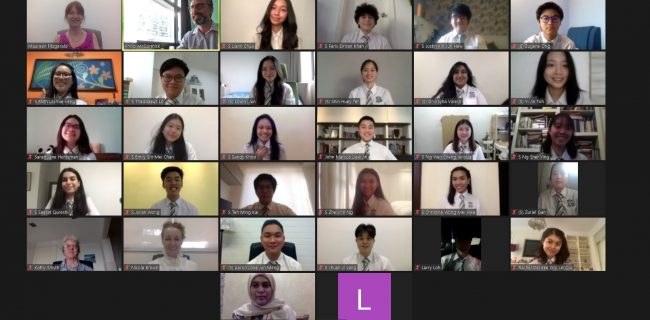 A Historic Virtual Graduation for SJIIM's IBDP Graduates